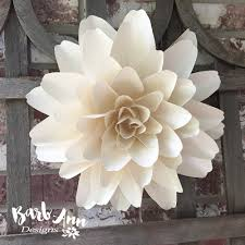 Wall Decoration At Home by Marvelous How To Make Wall Decoration At Home 4 Large Dahlia