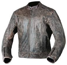 Agv Sport Element Vintage Leather Jacket Revzilla