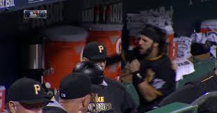Gatorade Meme - sean rodriguez attacks gatorade jug in pirates dugout becomes