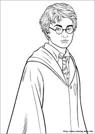 potter coloring picture