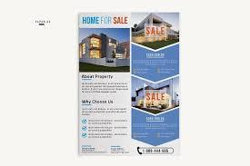 flyer property real estate flyer flyer templates creative market