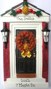 new home gift package 12 personalized front door ornaments