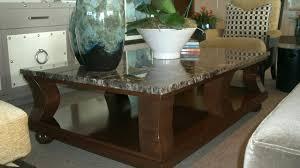 coffee table extraordinary granite top coffee table design ideas