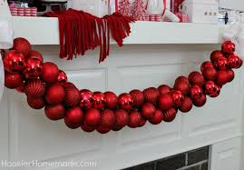 diy ornament garland hoosier