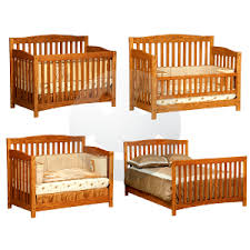 Non Convertible Crib Usa Made Amish Non Toxic Baby Nursery Furniture Amish