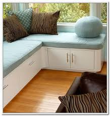 Wooden Storage Bench Seat Plans by Modern Family Room With Corner Storage Bench Seat Round Ball Blue