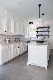 gray kitchen floors with oak cabinets 40 grey kitchen ideas cabinets splashbacks and grey