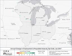 Jefferson County Zip Code Map by Urban Indian Lands Add 68 500 Jobs Since Last June Isea