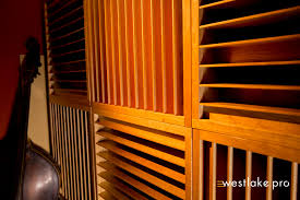 critical listening room at wlp features acoustic treatment