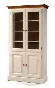 Wood Bookcase With Doors Hoot Judkins Bookcases Doors Pine Bookcase Doors Plantation