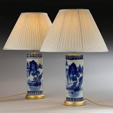 Oriental Table Lamps Uk Pair Summers Davis Antiques U0026 Interiors