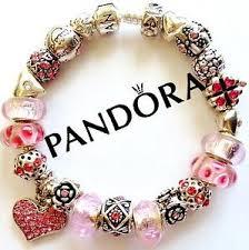 pandora bracelet charms silver images Pandora charm bracelet ebay JPG