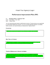 company progress report template 40 performance improvement plan templates examples performance improvement plan template 25