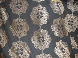 Upholstery Drapery Fabric Burn Out Floral Velvet Upholstery And Drapery Fabric Per Yard