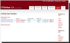 online registration class scheduling app class registration