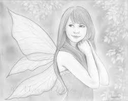 summer fairy sketch by mayumiogihara on deviantart
