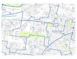map st louis 8th ward dems stl map of the 8th ward city of st louis august