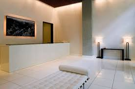 Luxury Lobby Design - luxury elegant rental residence interior design of the melar