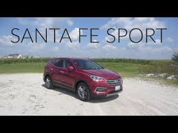 rent a hyundai santa fe 2018 hyundai santa fe sport rental car review