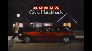 hatchback cars 1980s honda civic commercial hatchback u0026 sedan 1980s youtube