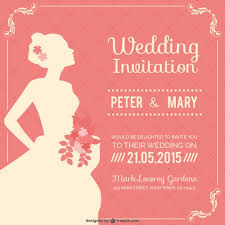 wedding invitations vector vintage wedding invitation free vector 123freevectors