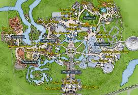 Map Of Magic Kingdom Orlando by Kennythepirate Magic Kingdom Character Locations Map