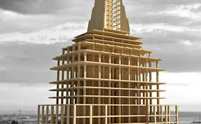 state wood architect builds empire state building replica out of wood