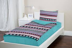Aqua Bedspread Zipit Bedding Set Zip Up Your Sheets And Comforter Like A