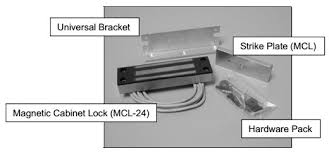 Magnet Cabinet Lock Mcl Magnetic Cabinet Lock By Securitron 200lbs Holding Force By