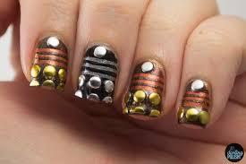 hey darling polish nail art a go go day 18 sci fi