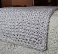 crochet bed runners super bulky chunky full queen u0026 king pattern