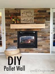 diy pallet wall spoonful of imagination