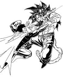 goku ssj4 superman dcnerd135 deviantart
