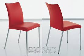 Red Dining Chair Anna Italian Modern Dining Chair By Cattelan Italia Made In Italy