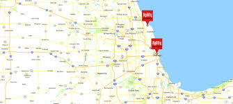Evanston Illinois Map by Agility Networks Chicago Area I T Services