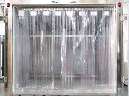plastic freezer curtain application and tips