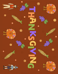 a thanksgiving placemat to print for the feast ziggity zoom