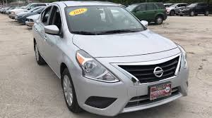 nissan versa gear shift stuck used one owner 2016 nissan versa sv chicago il western ave nissan