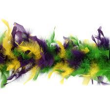 mardi gras feather boas chandelle boas multi colors mardigras 5 5