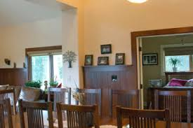 8 dining room craftsman molding craftsman dining room with