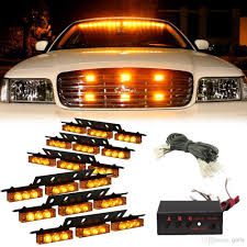 emergency vehicle light controller amber white white amber 54 led emergency vehicle strobe flash