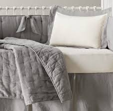 Gray And White Crib Bedding Crib Bedding If Money Were No Object Co