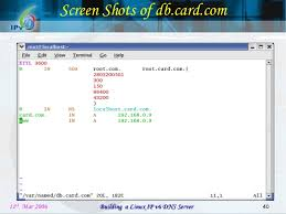 Download Linux Dns Server Software by Building A Linux Ipv6 Dns Server Project Review Ppt V3 0 First Review