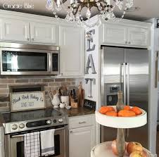 Kitchen Without Backsplash Gracie Blue Diy Whitewash Brick Backsplash And Thinbrick Source