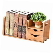 wood desk organizer ebay