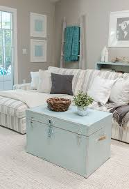 Shabby Chic Sectional Sofa by Furnitures Shabby Chic Living Room With Square Trunk Coffee