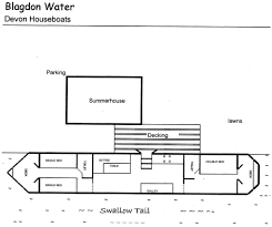 devon houseboat floor plans great self catering accommodation in devon