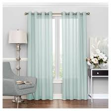 Light Silver Curtains Liberty Light Filtering Sheer Curtain Eclipse Target