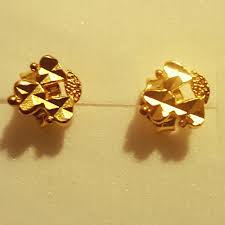 earrings for sale find more 21k saudi gold stud earrings for sale at up to 90