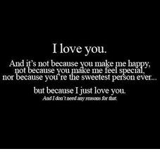 Sweetest Day Meme - i love you and it s not because you make me happy not because you